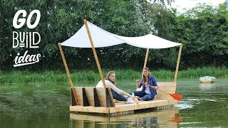 BUILDING AN AMAZING PALLET RAFT