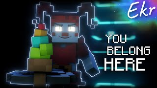"""""""You Belong Here"""" [2 Years Later]   Minecraft FNAF SL Song Animation (JTMusic)"""