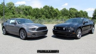 2013 Ford Mustang GT 5.0 and V6 Start Up, Exhaust, and In Depth Review