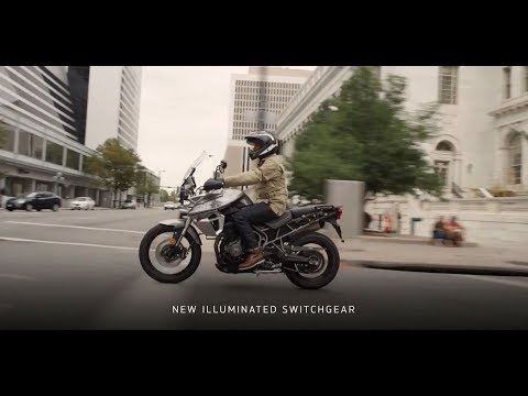 2019 Triumph Tiger 800 XRx in Tarentum, Pennsylvania - Video 1