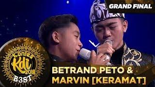 Bikin Merinding! Betrand Peto Ft Marvin [KERAMAT] - Grand Final KDI 2019 (18/10)