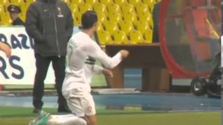 На что обиделся Роналду Россия - Португалия 1-0