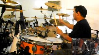 ANGRA Wishing Well DENIS CIANI drum cover AQUILES PRIESTER TRIBUTE