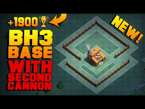 BEST Builder Hall 3 Base W/ 2 CANNONS! | NEW CoC BH3 ANTI 2 STAR Builder Base!! | Clash Of Clans Mp3