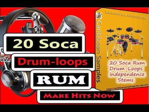 20-Soca Rum Drum-loops/Bpm-104 to 147