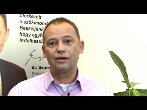 Szanyi Tibor videóüzenete