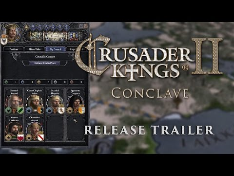 Crusader Kings 2: Conclave - Release Trailer thumbnail