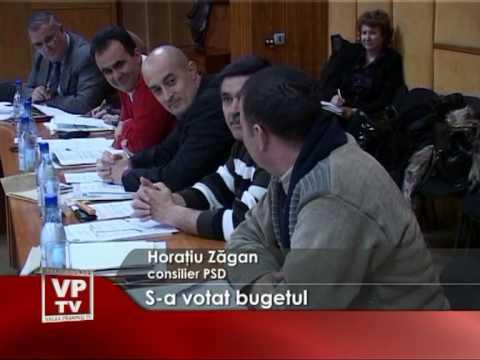 S-a votat bugetul