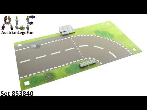 """Vidéo LEGO Objets divers 853840 : LEGO Xtra - Tapis de jeu """"La route"""""""