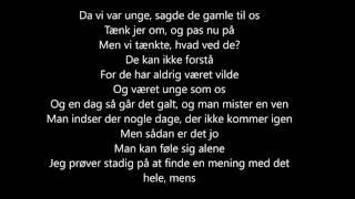 Rasmus seebach - Livet går videre (Lyrics)