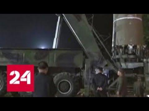 Японский телеканал показал кадры испытания северокорейской ракеты