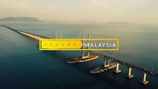 [4k] Penang, Truly Malaysia - Cinematic Travel by Drone