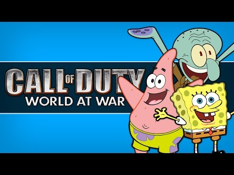 Bikini Bottom! – Call Of Duty: World At War Zombies! (Custom Maps, Mods And  Funny Moments) (COD WaW)