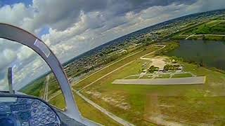 Freewing F-5N FPV!!! 2nd fpv jet flight only i remembered to droop my landing gear.