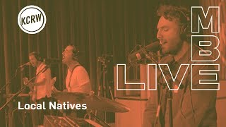 """Local Natives performing """"Megaton Mile"""" live on KCRW"""