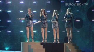 Safura's first rehearsal (impression) at the 2010 Eurovision Song Contes