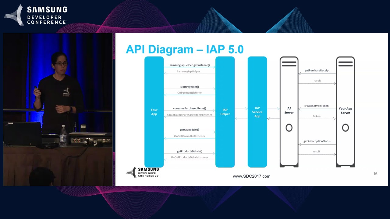 SDC 2017 Session: Samsung IAP: Your Monetization Gateway for Galaxy Apps thumbnail