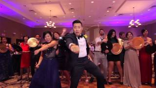 EPIC WEDDING - MUSIC VIDEO WITH 250 GUESTS IN ONE TAKE!