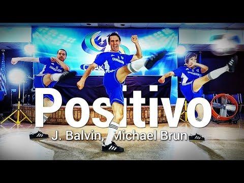 Positivo - J. Balvin, Michael Brun l Chakaboom Fitness (Coreografia) (Choreography) Dance Video