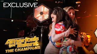 """The winner of Norway's Got Talent sang a Golden Buzzer-worthy performance of """"Bohemian Rhapsody"""" by Queen and received Heidi's Golden Buzzer! The singer tells us why she sang barefoot on stage! » Get The America's Got Talent App: http://bit.ly/AGTAppDownload » Subscribe for More: http://bit.ly/AGTSub » Watch America's Got Talent: The Champions Mondays 8/7c on NBC! » Stream Anytime: http://bit.ly/AGTFullEpisodes  AMERICA'S GOT TALENT ON SOCIAL Like AGT: https://www.facebook.com/agt Follow AGT: https://twitter.com/agt AGT Tumblr: http://nbcagt.tumblr.com/ AGT Instagram: http://instagram.com/agt  """"America's Got Talent: The Champions"""" brings together the world's most talented, memorable and all-around fan-favorite acts from past seasons of """"AGT"""" and the other """"Got Talent"""" franchises, spanning 194 territories.  Find America's Got Talent: The Champions trailers, full episode highlights, previews, promos, clips, and digital exclusives here.  NBC ON SOCIAL Like NBC: http://Facebook.com/NBC Follow NBC: http://Twitter.com/NBC NBC Tumblr: http://NBCtv.tumblr.com/ NBC Pinterest: http://Pinterest.com/NBCtv/ NBC Google+: https://plus.google.com/+NBC YouTube: http://www.youtube.com/nbc NBC Instagram: http://instagram.com/nbc  ABOUT AMERICA'S GOT TALENT: THE CHAMPIONS Last winter's #1 most-watched alternative series, """"America's Got Talent: The Champions,"""" returns for a second season. The series will feature a star-studded panel of judges, including executive producer Simon Cowell, global superstar Heidi Klum, """"AGT's"""" longest-running judge Howie Mandel and the newest addition - singer, songwriter and author Alesha Dixon, who joins """"Champions"""" from the smash hit """"Britain's Got Talent."""" Terry Crews, star of NBC's """"Brooklyn Nine-Nine"""" and People magazine's """"Sexiest TV Host,"""" returns as host. """"America's Got Talent: The Champions"""" brings together the world's most talented, memorable and all-around fan-favorite acts from past seasons of """"AGT"""" and from the other """"Got Talent"""" franchises aro"""