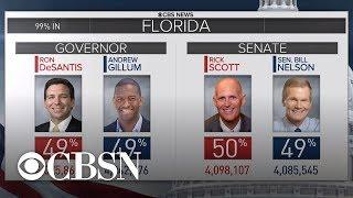 Statewide vote recounts underway in Florida