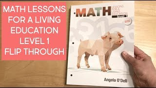 Math Lessons For A Living Education, Level 1 {Flip Through}