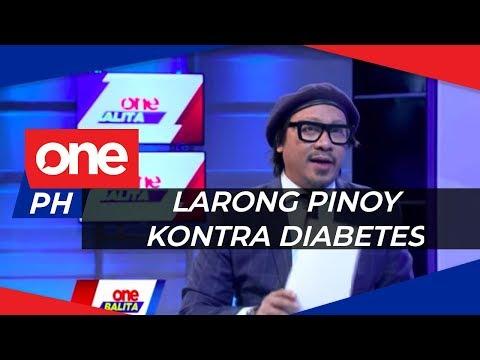 Traditional Filipino games, magandang pangontra sa sakit na diabetes? | ONE BALITA