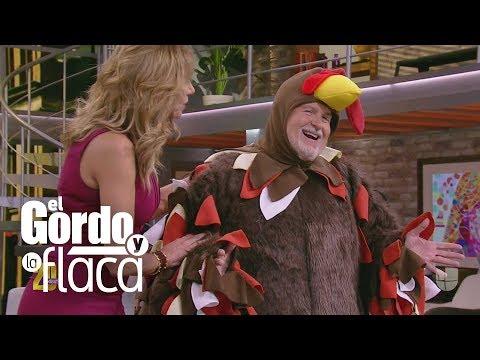 Raúl de Molina estrena disfraz de pavo después de 19 años de usar el mismo | GYF