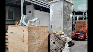 Đại Phong cấp công trình lô hàng (Recloser Schneider + Tủ ACB Solar + Dây Cadivi + Tủ Trung Thế ABB)