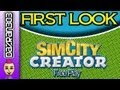 Sim City Creator Nintendo Wii Free Play Gameplay First