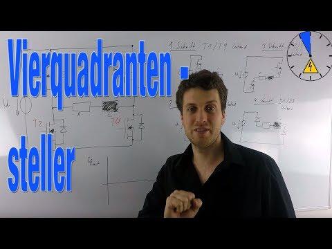Wie funktioniert ein Vierquadrantensteller - Wechselrichter - Funktionsweise