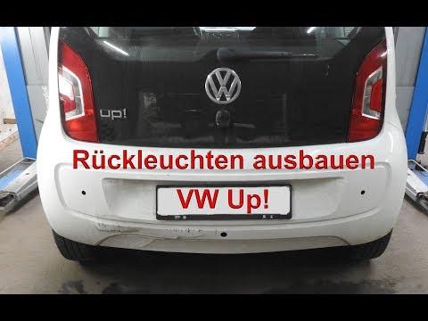 Rückleuchten  beim VW Up! ausbauen - Seat Mii - Skoda Citigo