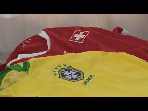 Em Nova Friburgo, descendentes suíços querem empate no primeiro jogo do Brasil na Copa