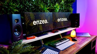 My DREAM DESK SETUP For Music Production 2020 - IKEA HACK