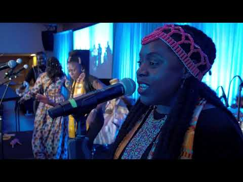 """Morehouse Afro Pop """"Afro Blue"""""""