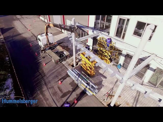 Der Balkon - Teil 2 - Die Montage
