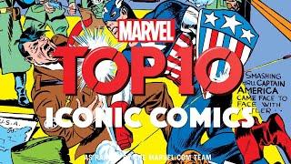Top 10 Iconic Comics   Top 10