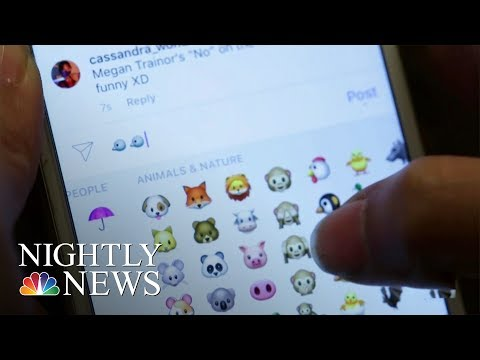 A Look At The Emoji, Everyone's Favorite Way To Text | NBC Nightly News