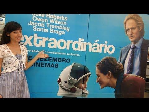 EXTRAORDINÁRIO - FILME X LIVRO   Alegria Literária