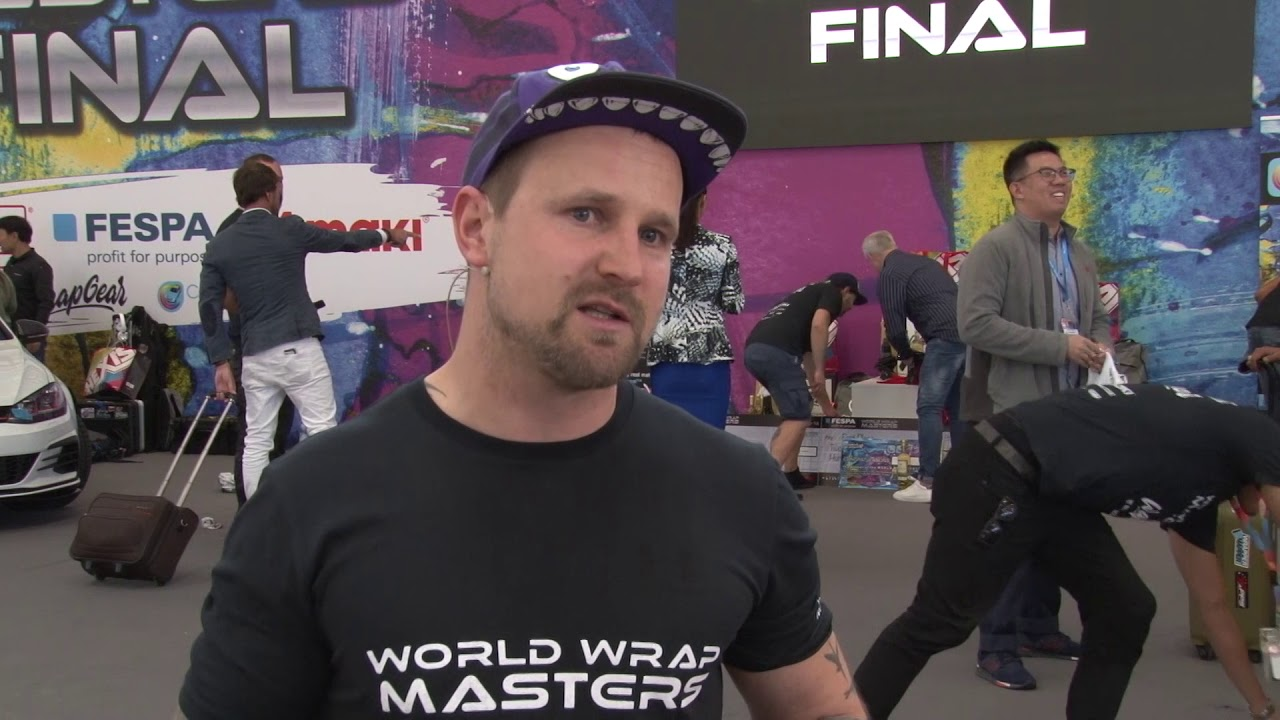 <p>Norman Brübachj from design-freiburg won second place in the World Wrap Masters Finals 2019 in Munich Germany. Norman shares his thoughts with FESPA after his win.</p>