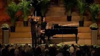 Noah Bendix Balgley | Wieniawski : Variations on an Original Theme | Queen Elisabeth | 1 of 2 | 2009