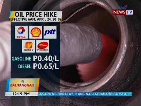[GMA] BT: Oil price hike (6AM, April 24, 2018)