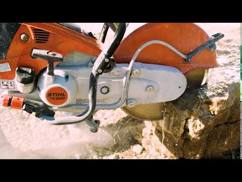 Stihl TS 800 Cutquik in Ogallala, Nebraska - Video 1