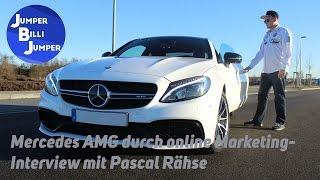 Mercedes AMG durch Online Marketing - Interview mit Pascal Rähse