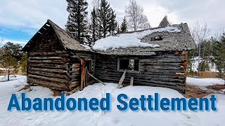 Finding  An Abandoned American Settlement & How It Became A Ghost Town