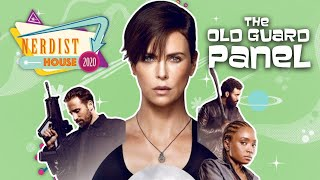 The Old Guard Cast Interview – Nerdist House – Charlize Theron, Chiwetel Ejiofor, and More