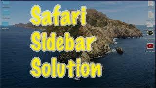 How To Get Rid Of Sidebar On Safari Mac