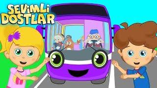 Otobüsün Tekerleği Yuvarlak ve Sevimli Dostlar ile Çocuk Şarkıları   Kids songs and nursery rhymes