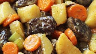 Homemade Beef Stew - Fork Tender Meat