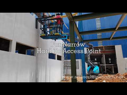 Boom Lift Rental In Malaysia. Rent An Electric Articulating Boom Lift Sinoboom